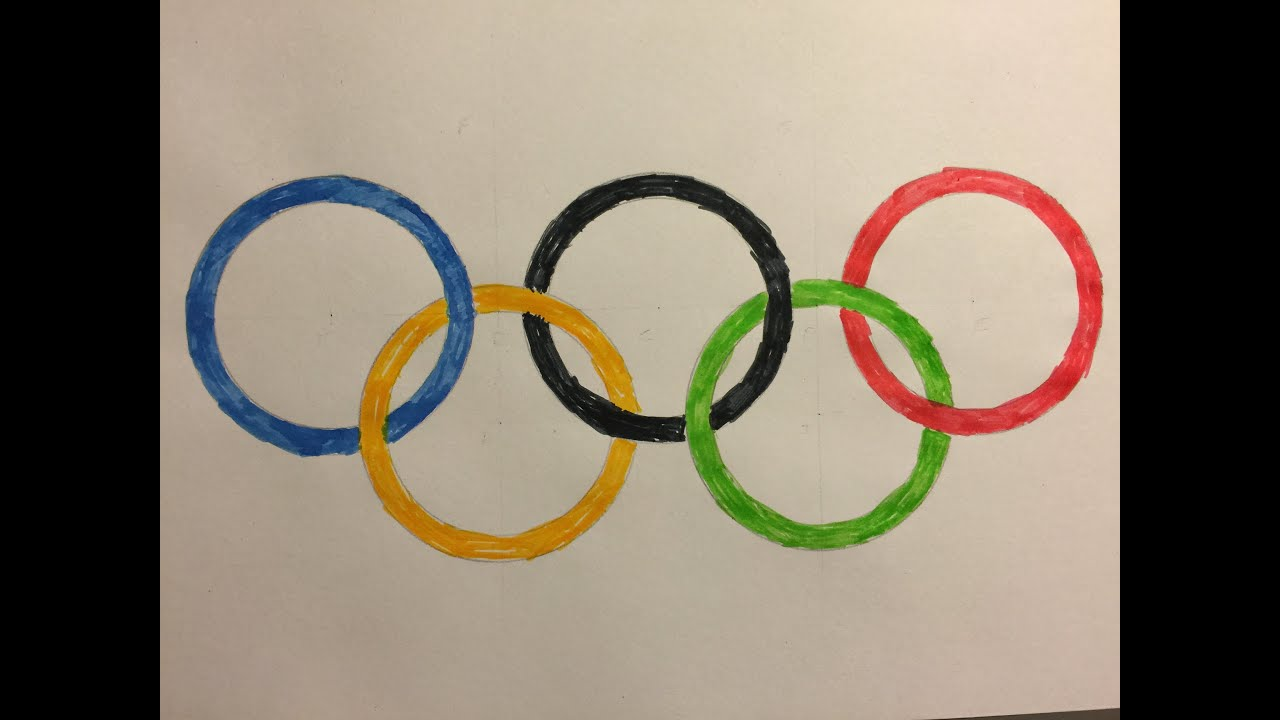 Pictures rings of the olympic