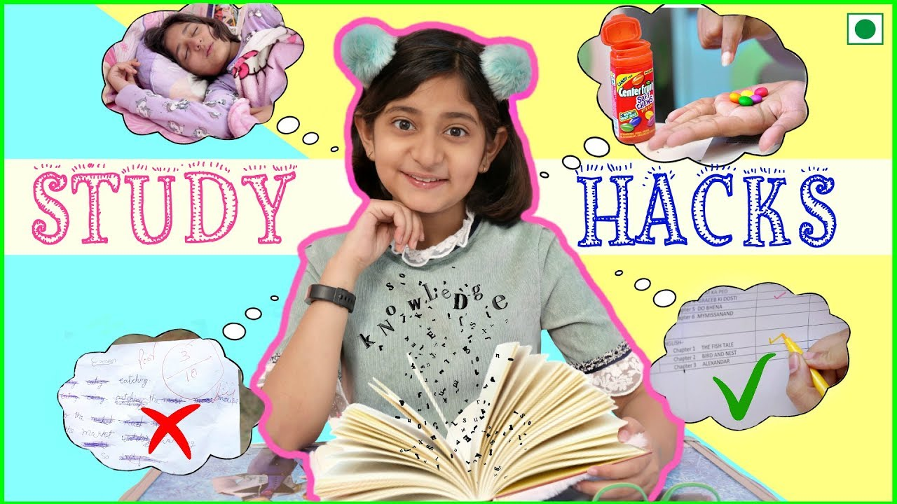 8 STUDY Hacks - Score Better in EXAMS   MyMissAnand