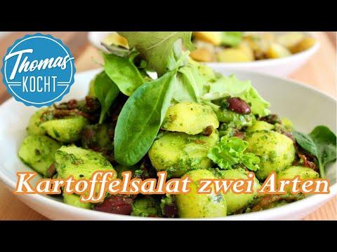 Kartoffelsalat Rezept / zwei Varianten von Kartoffelsalat