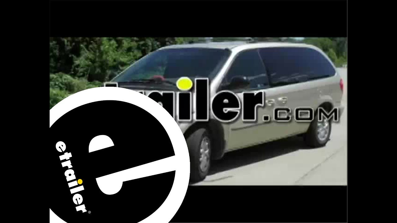 medium resolution of trailer wiring harness installation 2001 dodge grand caravan etrailer com