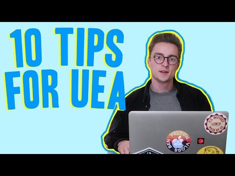 10 TIPS TO LIFE AT THE UNIVERSITY OF EAST ANGLIA (UEA) *HOW TO SURIVE FRESHERS*