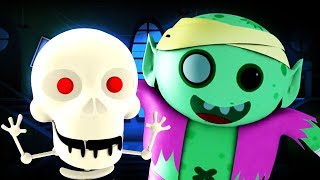 Hello It's Halloween | Scary Songs For Children | Spooky Nursery Rhymes For Kids