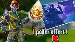1 FREE CACHER PALIER - FORTNITE BATTLE ROYALE