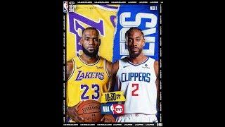 LA Lakers vs LA Clippers   Full Game Highlights  October 23, 2019 - NBA Season