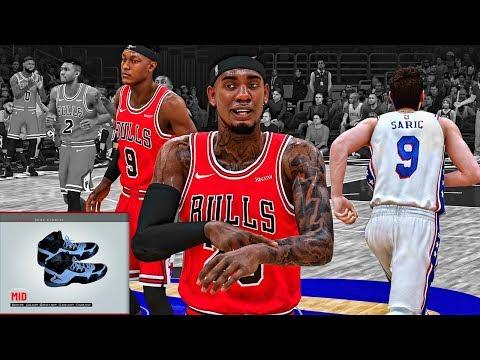 NBA 2k19 MyCareer #28 • Jordan Signature Shoe Creation • BREAKING CAREER HIGH's