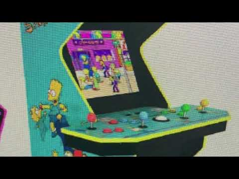 Arcade1Up New Simpsons Tron And Street Fighter Arcade 1Up from rarecoolitems