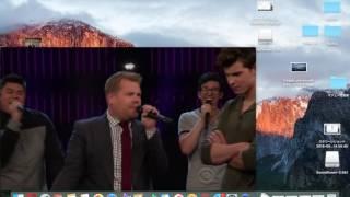 日本語字幕 ショーン・メンデス  アカペラ対決 shawn Mendes the Late Late Show With James Corden