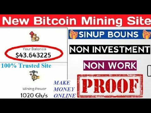 Trusted bitcoin mining sites without investment