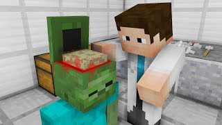 Monster School: Brain Operation! (Minecraft Animation)