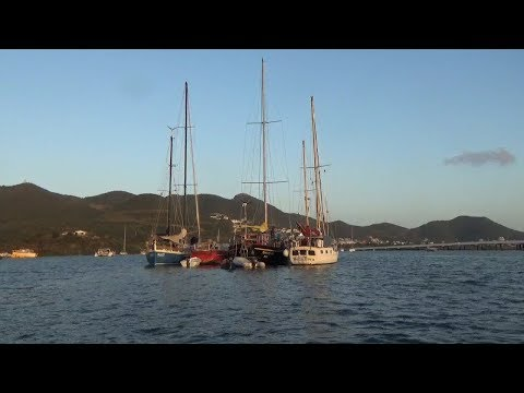 Ep027 Raft up and Wild Monkeys in St Martin