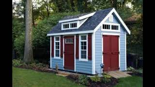 Best Backyard Shed Ideas,Unique Small Storage Shed Ideas for your Garden,Outdoor Storage Spaces #1