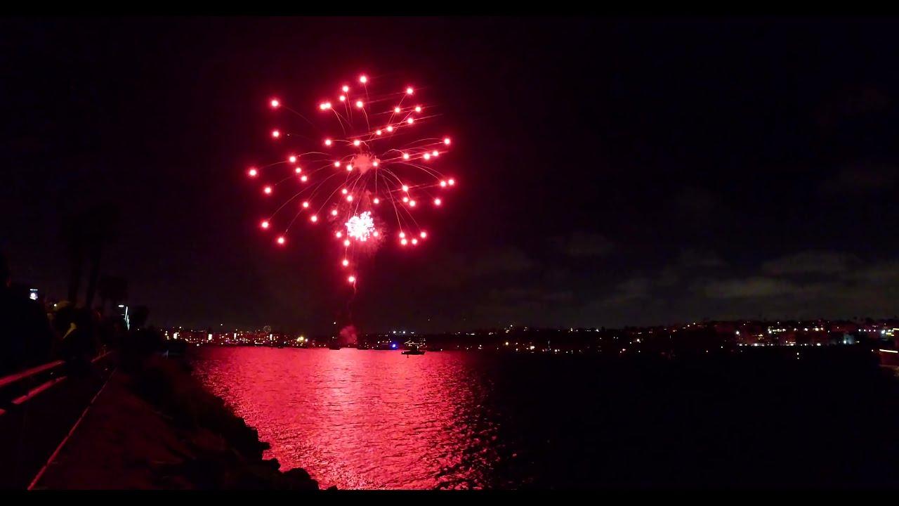 4th of July Fireworks | Marina del Rey, Los Angeles