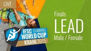 IFSC Climbing World Cup Kranj 2015 - Lead - Final - Male/Female