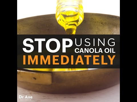 Stop Using Canola (Rapeseed) Oil