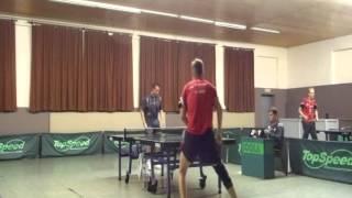 Beste Ballwechsel: Nico Beck gegen Stefan Börner, 26 9 2015