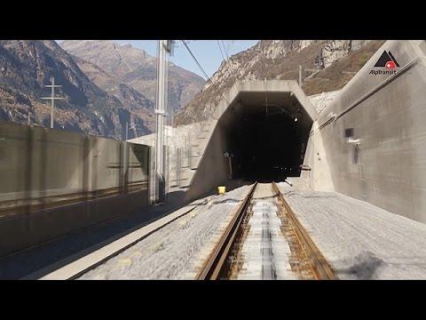 Смотреть В Швейцарии завершили самый длинный тоннель в мире (новости) онлайн