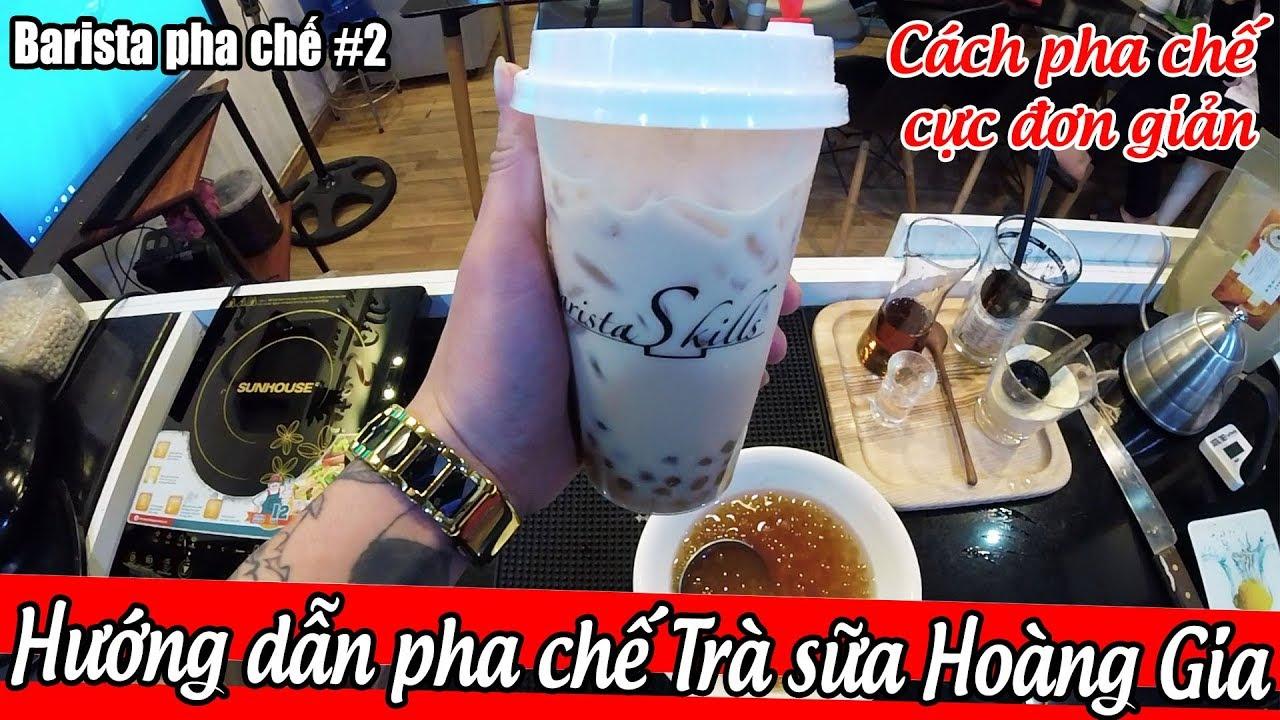BÀI 30  [BARISTA SKILLS] Cách pha TRÀ SỮA OOLONG TRÂN CHÂU HOÀNG KIM kiểu Royal Tea đơn giản tại nhà