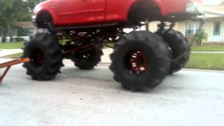 Telling a lifted truck owner he has a small dick