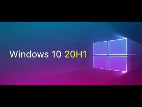 Windows 10 Insider  build 18908 for 20H1 Released May 29th 2019