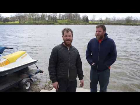 The $200 SeaDoo SP project Part 6. A freezing cold  Mother's day ride.