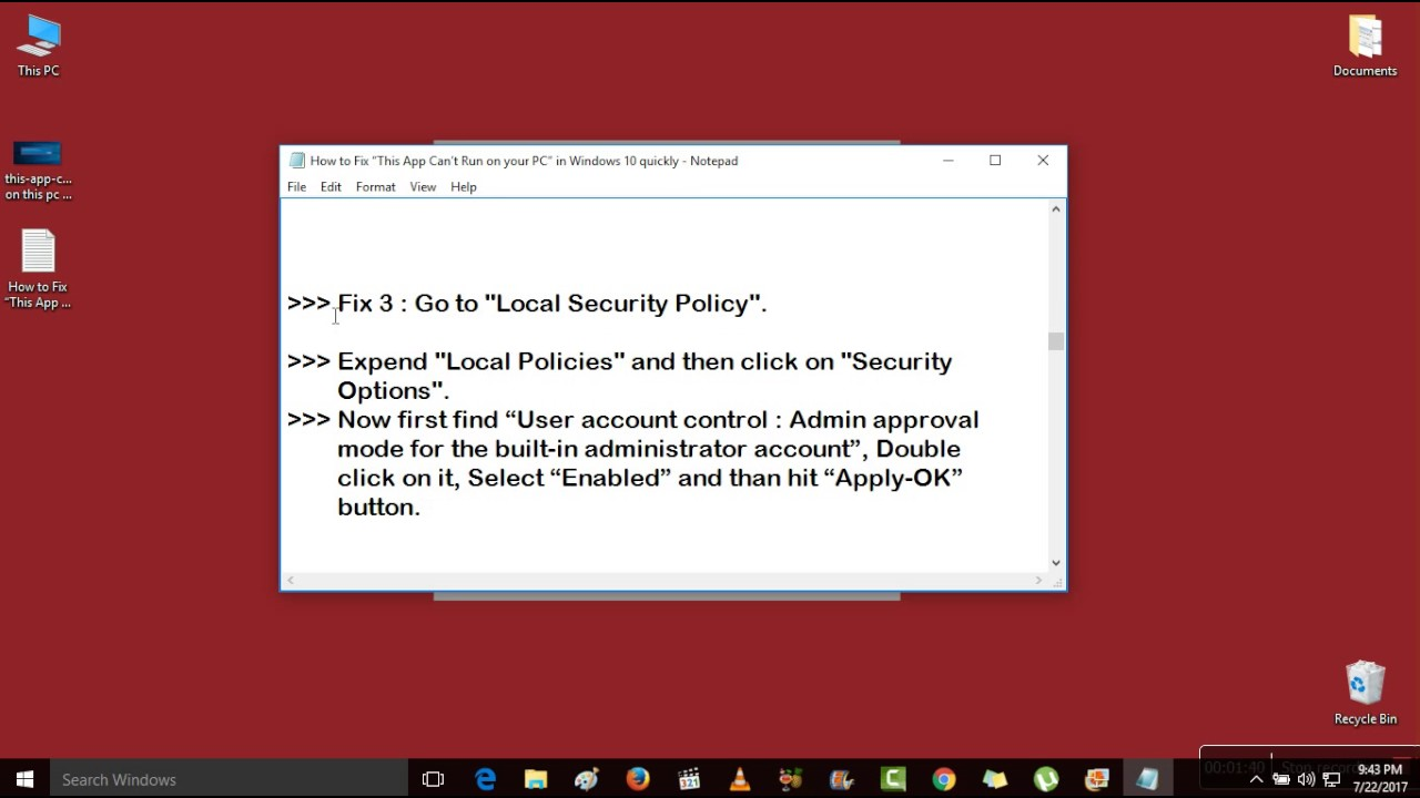 """How to Fix """"This App Can't Run on your PC"""" in Windows 10"""