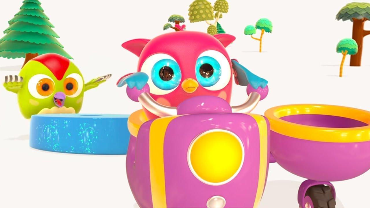 Çizgi film. Hop Hop ile çocuk şarkıları! Sessiz ve gürültülü nedir öğrenelim!