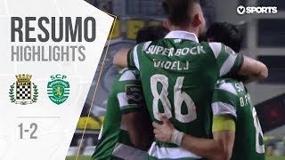 Highlights | Resumo: Boavista 1-2 Sporting (Liga 18/19 #25)