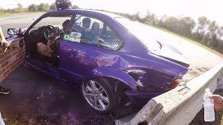 Ele DESTRUIU a BMW fazendo DRIFT!