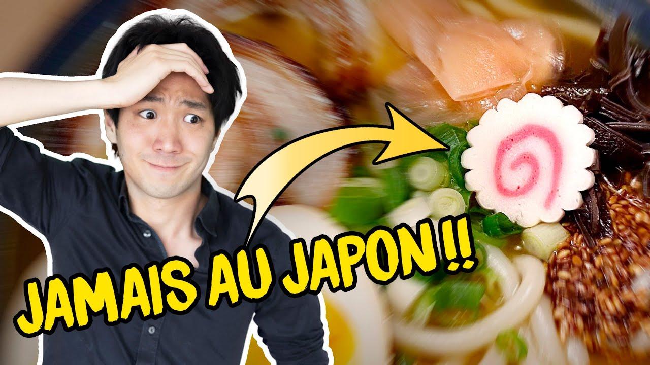 Mensonges sur la bouffe japonaise