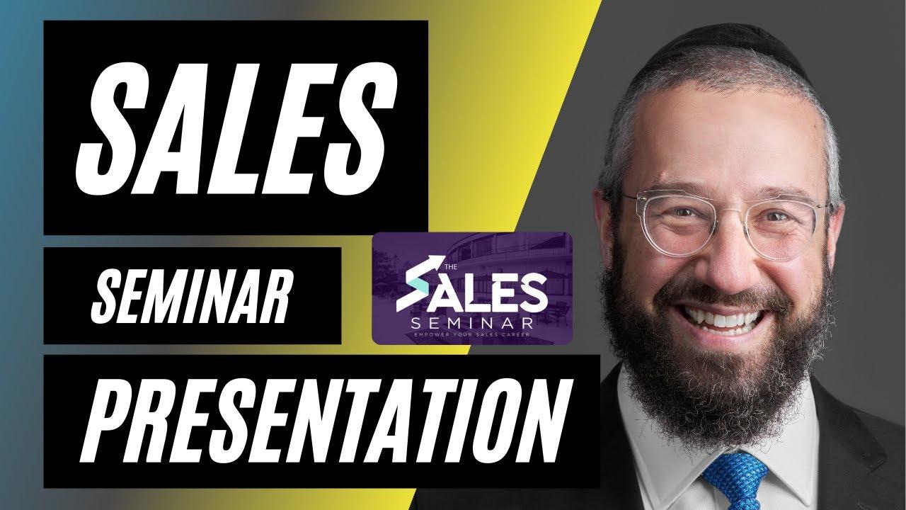 Sales Seminar Presentation