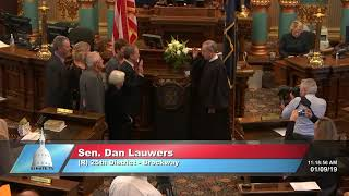 Sen. Lauwers sworn in as Michigan senator