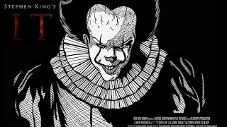 Stephen King's IT the clown | time lapse drawing