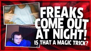 "OMEGLE FREAKS COME OUT AT NIGHT w/ Sharp and the #GOONSQUAD ""OMEGLE FUNNY MOMENTS"""