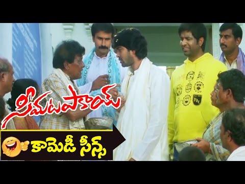 Allari Naresh & Sayaji Shinde Comedy Scene || Seema Tapakai Movie || Allari Naresh, Poorna