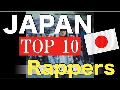 【TOP10】 JAPAN Rappers
