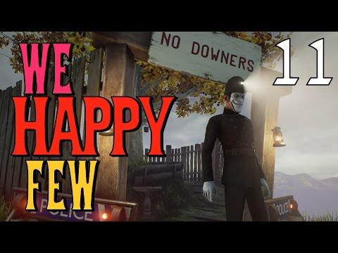 We Happy Few [#11] Śmieszne Spotkanie Z Policją!