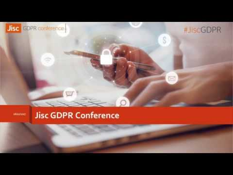 Practical applications of GDPR for further education - Joe Yeadon