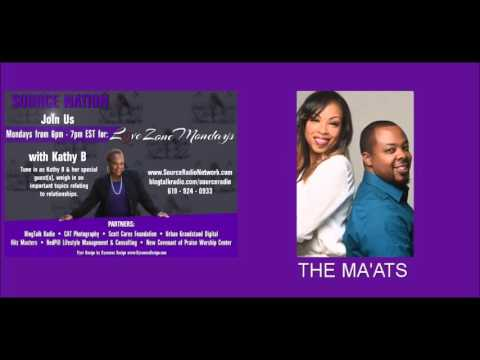 January 4th Love Zone Mondays with  Kathy & the Ma'ats