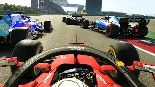 ONE OF THE BEST OVERTAKES I'VE MADE ON THIS GAME! - F1 2019 CAREER MODE Part 88
