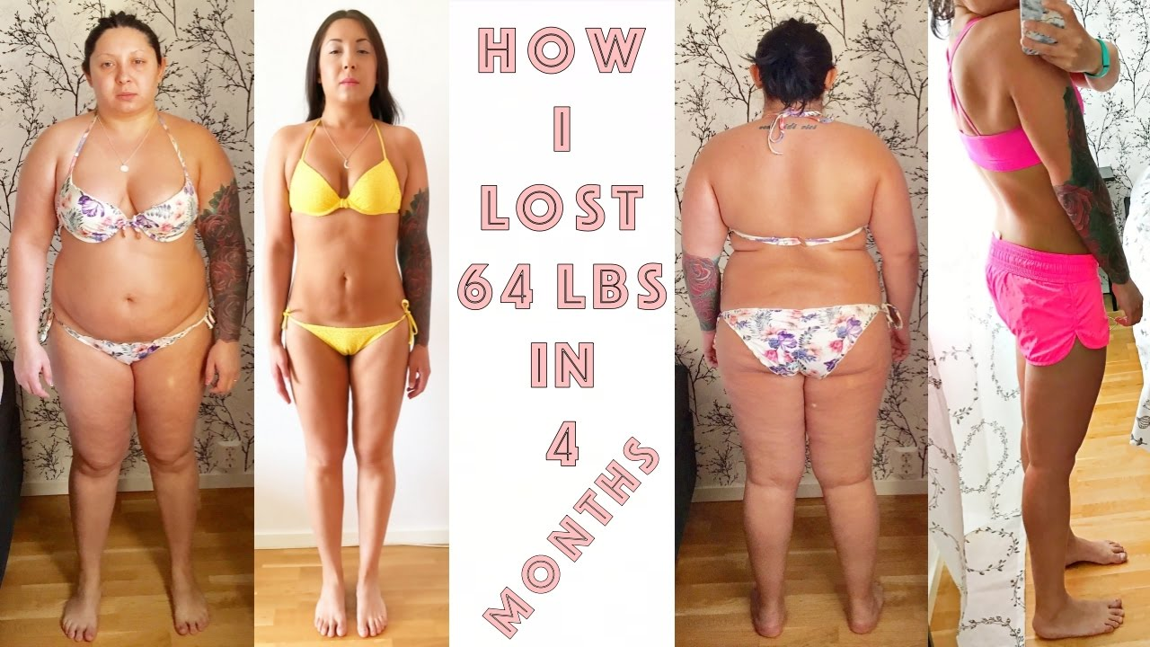 how many weight loss in a month