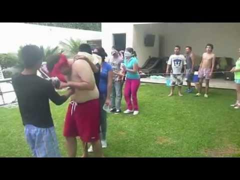 Dinamica 26 Ciegos Al Agua Paralideres Org Youtube