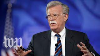How will Bolton do as national security advisor?