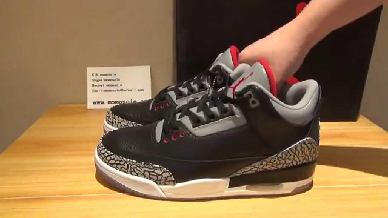 4889bf62bdf Black Cement 88 Retro w  Nike Air Jordan 3 Release  Discussion - YouTube