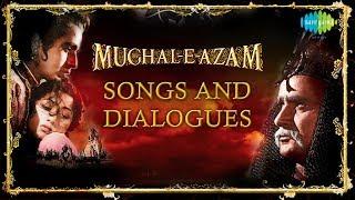 Mughal-E-Azam | Dialogues & Song  | Jab Pyar Kiya Toh | Madhubala | Dilip Kumar | Prithviraj Kapoor