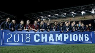 2018 SheBelieves Cup Champions
