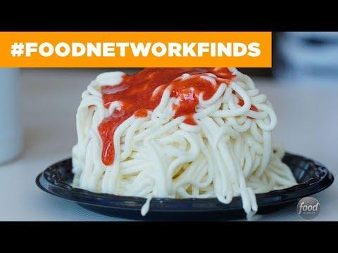 Spaghetti Gelato at Gelato and Angels | Food Network