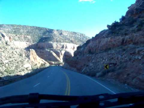 Truck Driving Utah Highway 191