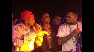 chris brown trey songz and august alsina performs in club new 2014