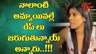 im-the-cause-for-rapes-rashmi-talk-o-mania-teluguone