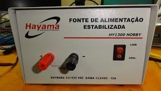 Fonte Hayma 13.8 volts 10A
